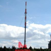 Guyed Mast Telecom Tower