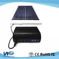 Mini portable solar generator system for home