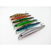 11.5cm/11g hard plastic lures artificial minnow fishing lures