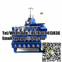 Full automatic scourer making machine with wire drawing thumbnail image