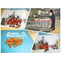 co-extruded dry animals cat food extruder/processing line/production line making machinery equipment