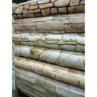 Wholesale PVC Wall Paper from China Supplier High Quality 3d Vinyl Brick Decorative Latest Wallpaper