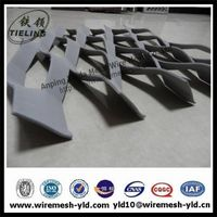 Anodized aluminum expanded metal sheet