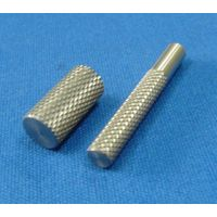 electronic knurled pin / pivot pis