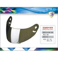 Silver Iridium Full face visor