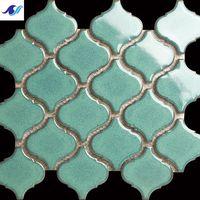 Beautiful cheap ceramic mosaic tile in swimming pool