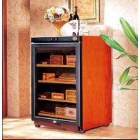 free-standing for your cigar storage C150A cigar humidor over 300pcs storage wooden cigar cabinet hu