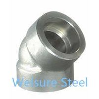 Supply Duplex Stainless Steel S31500. S31803. S32304. S32205. S32760. S32750 Socket Elbow45° thumbnail image