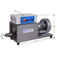 A hot air blower to remove water from a pipe Industrial electrothermal generator Hot air blower