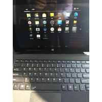 10 inch windows 2in1 tablet pc 2GRAM32GROM 1280800IPS screen support windows and android dual os