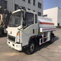 sinotruk 5000 liters fuel tank truck from howo factory thumbnail image