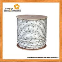 Polydac 3 strand twisted rope