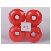 pu wheels for skate board 5230 red polyurethane wheels for skateboard  thumbnail image