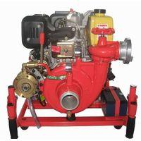 Light weight diesel engine fire pump