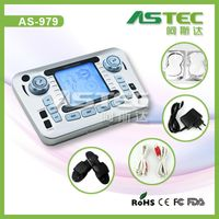 AS979 Electronic pulse ,low frequency massager for muscle pain relief