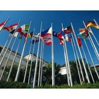 Cone Tapered Stainless Steel Flagpoles