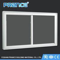 Dust-proof interior station aluminum sliding windows