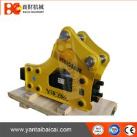 Side type hydraulic rock breaker hammer for 6-9ton excavator