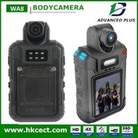 High Quality WA8 Waterproof 2.4G Wireless Remote Control 270 Degree Rotatable Lens police body worn