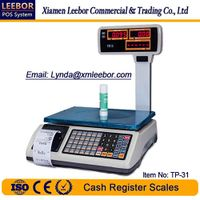Electronic Cash Register Pricing Scale, Supermarket Receipt/ Bill Printing Price Computing Weighing thumbnail image