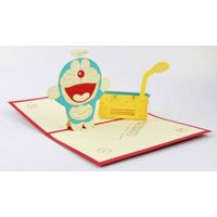 Doreamon 3D pop up greeting card