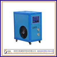 1PH air cooled industrial water chillers,easy to install and move