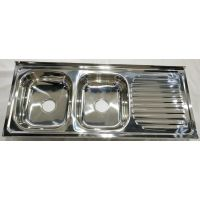 1.2m length sink for kitchen stainless steel middle east africa hot sale