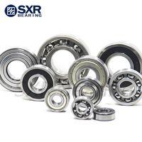 China Brand Sxr Chrome Steel Gcr15 Black Edges Black Corners Deep Groove Ball Bearing 6204 2RS thumbnail image