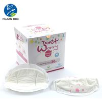 High Quality OEM 3D Ultra Soft Disposable Breathable Lactation Breast Nursing Pads thumbnail image
