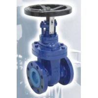 cast iron gate valve non-rising stem BS 4504 PN10