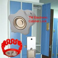 magnetic electric cabinet lock