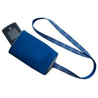 Mobile phone strap  with holder
