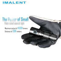 Imalent DM70 powerful LED flashlight