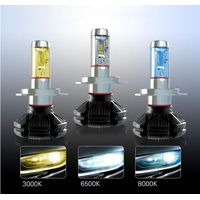 Best sellers car led headlight bulbs cool light with fanless lamp
