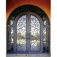 customer design iron door