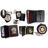 Badge Wallet, Badge Cases, Leather Badge Holder Purse