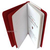 Red Hardcover Book Printing,Hardback Book Printing Service