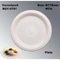 Cornstarch tableware biodegradable disposable plates thumbnail image