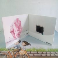 2.8 inch lcd vedio greeting cards/advertising promotion brochure thumbnail image