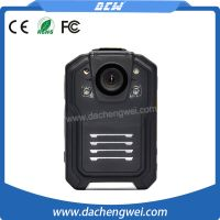 32G police body worn camera with HD 1080p IP66 IR function for 12h security recording