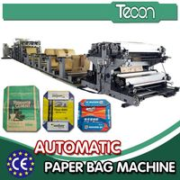 Automatic Valve Cement Paper Bag Package Machinery
