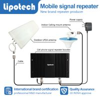 Long distance tri band mobile signal repeater GSM DCS WCDMA Mhz data extender