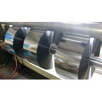 Metalized PET flex duct film