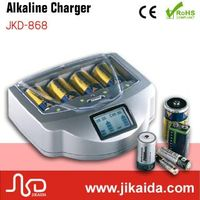 Emergency rechargeable aa&aaa alkaline battery charger