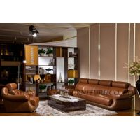 2014 Elegant Leather Sectional