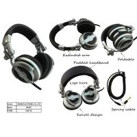 Stereo DJ headphone new foldable