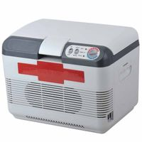 Cooler or Warmer 12V 15L 215A Mini Car Refrigerator /Car Small Refrigerator Dual-Use Refrigerator In