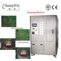 Partial picture of Smt Cleaning Equipment Stencil Cleaner 200-600l / Min Air Consumption CW-800