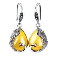 Vintage Women's Agate Earrings