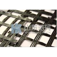 High strength polyester geogrid